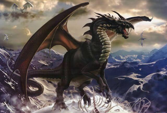 Mơ thấy rồng đen là điềm báo phúc hay họa? Nên đánh lô số máy?